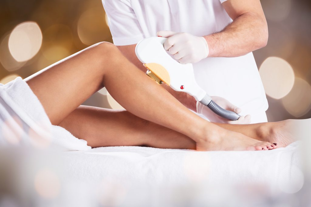 expect laser hair removal before after